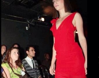 Women's Red,Chiffon maxi