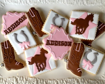 Cowgirl Chic Sugar Cookie Collection