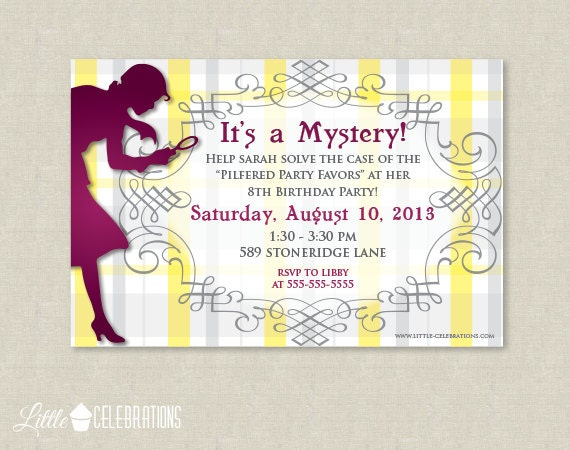 Girl Invitations Birthday Printable is perfect invitation ideas