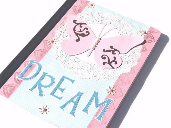 Dream Diary Journal - Altered Composition Notebook - Great Gift for Her