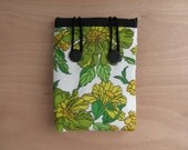 Bluff Sleeve- Vintage Green Floral // back to school, gifts under 50, retro, macbook case, laptop cover