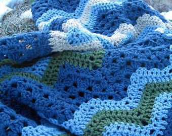 custom-made lap afghan-perfect for a snowy evening!
