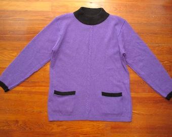 women's vintage Saks sweater.