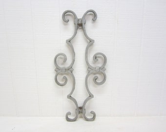 Vintage Fence Panel Cast Metal
