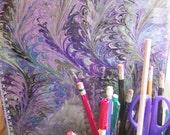 Clipboard Blue Purple Green Watercolor Large 9 x 12 back to school teacher gift Clip board Office Organizer Legal Pad Writing desk accessory