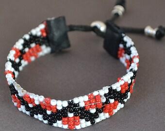 Bracelet, Seed Bead Bracelet, Handmade bracelet, Friendship Bracelet, Loomed Bracelet, Bead Loom Bracelet, Adjustable Bracelet
