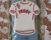 Peggy Tshirt Necklace Collectible Childrens