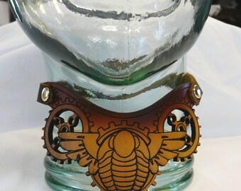 Girl Genius Agatha's Trilobite Leather Clockwork Choker