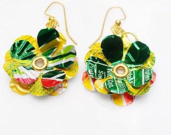Mt Dew Earrings Teen Girl Jewelry Gift Women Mtn Dew Soda Can Jewelry Eco Friendly Sale Jewelry