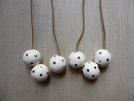 Lustre Dot Ring Necklace