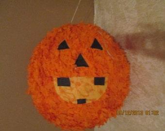 Jack O' Lantern Pinata - Pumpkin Pinata - Halloweeen Party Pinata - Pinata - Manny's Pinatas