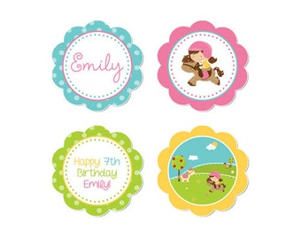 50% Off Sale! - PRINTABLE Pony Party Circles