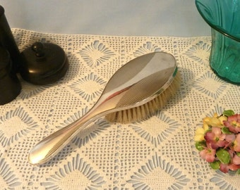 Antique Sterling Silver Hairbrush