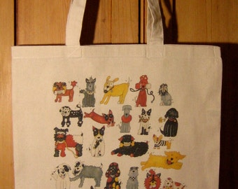 I Like Rescue Dogs Tote Bag