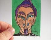 Tito - original ACEO drawing - March 22th 2014