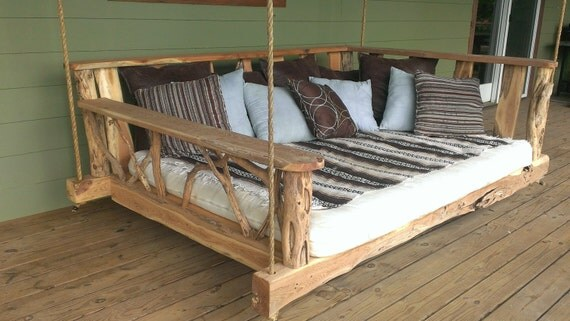 Porch Swing Bed - King