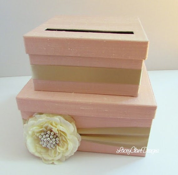Wedding Card Boxes For Receptions: Items Similar To Wedding Card Box Money Holder Gift Card