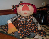 Primitive Candy Corn Annie
