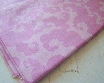 Sugar Snap Plum Fabric, Tendril by Melissa Averinos for Free Spirit Fabrics, OOP HTF