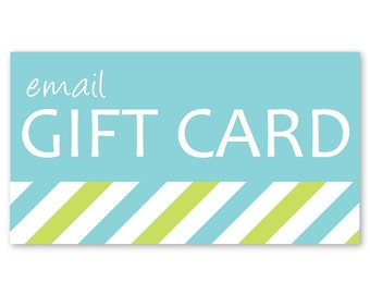 Gift Certificate eGift Cards - 50 Dollars gift card