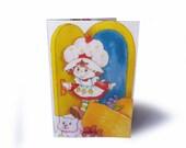 SALE ⎟ Passport Cover - Vintage Strawberry Shortcake Book Page in Vinyl