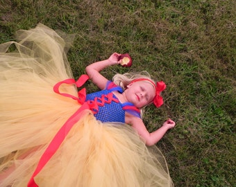 Snow White Inspired Princess Halloween Costume