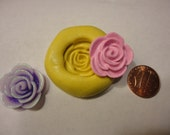 Sale--kawaii flexible silicone mold for rose cabochon---USA seller