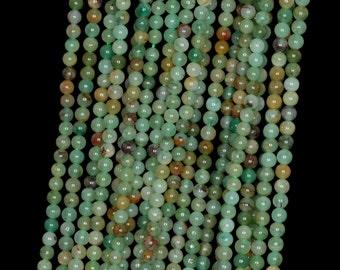 "2mm African Jade Round beads full strand 16"" Loose Beads P142723"