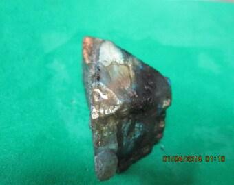 Light Yellow Gold Orange Labradorite Stone Slab Chunk Wire Wrap Cutting Material Opalescence - C
