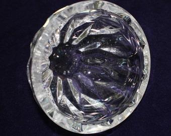 Cut Glass Lead Crystal Nut/Dip Bowl