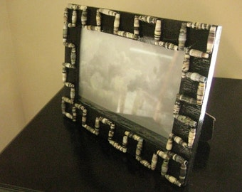 Up-Cycled/Re-Cycled Photo Frame