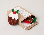 Sew a Pudding Felt Christmas Decoration Kit