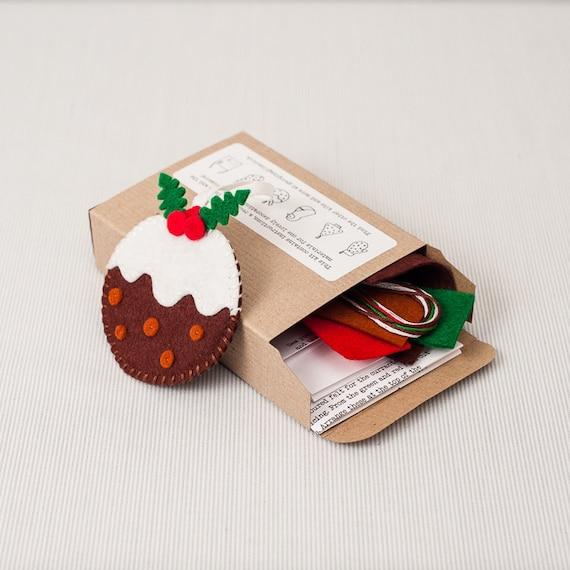 Sew a Pudding Felt Christmas Decoration Kit