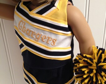 Design Your Own American Girl Doll Cheerleading Outfits-Complete Outfit included in Price