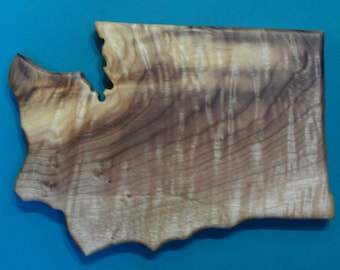 Souvenir myrtlewood State shape cutting boards ,include a Heart wood burned for city you love in any state