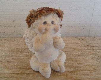 Dreamsicle Cherub Angel Collectable Cast Art