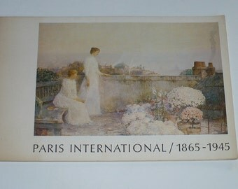 Art Catalog Maxwell Galleries Paris International 1865-1945, Books, Books with Content, Art Book, Old Book.