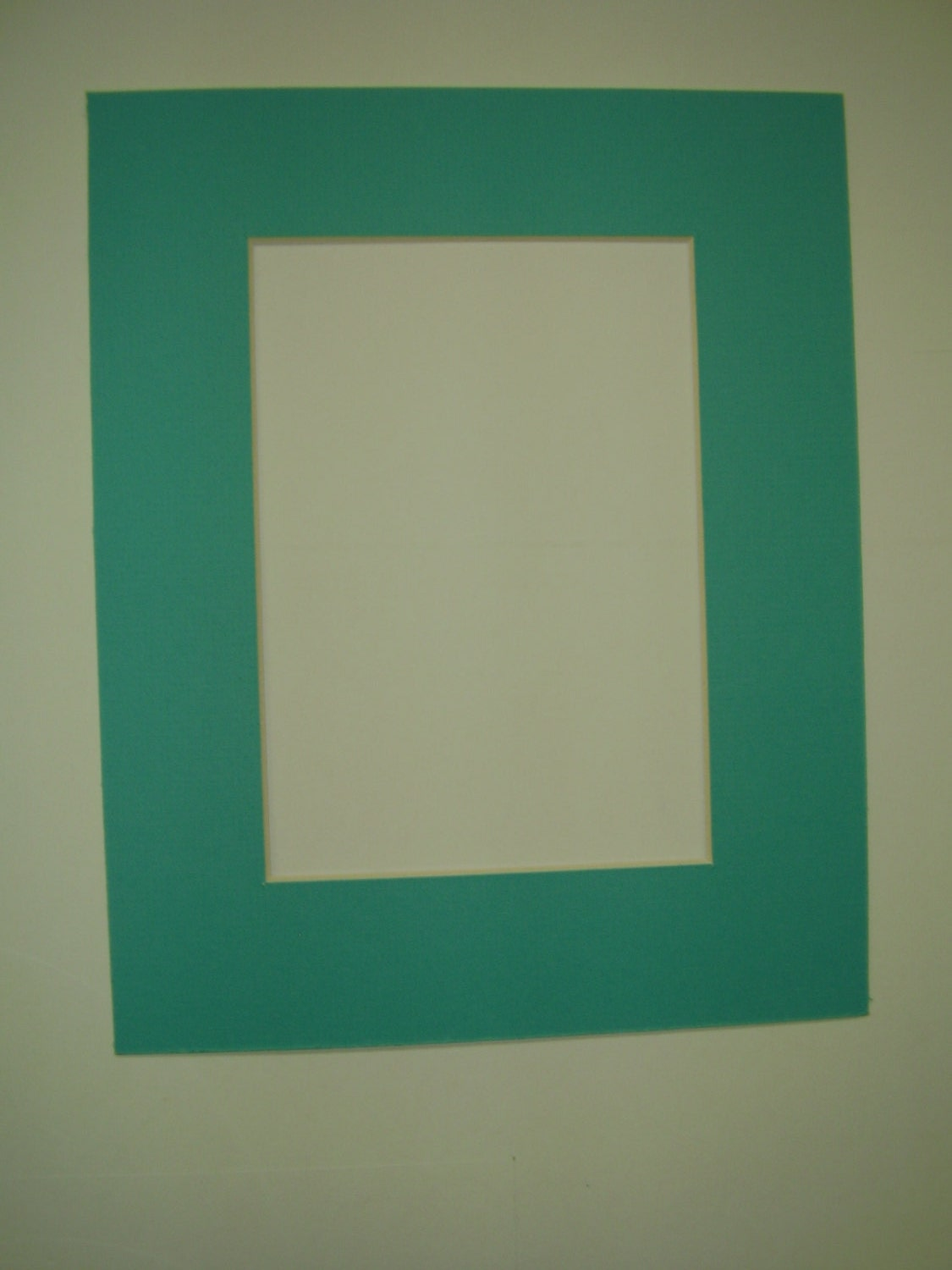 Picture Framing Mats Set Of 2 Turquoise Blue Single Mast