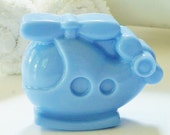 KIDS HELICOPTER SOAP - Choose Soap Color, natural, bath, handmade, glycerin, kids, fun, party favors