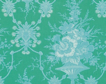 Quilt Fabric, Jennifer Paganelli Fabric, Lucky Girl, Nicki in Green, One Yard