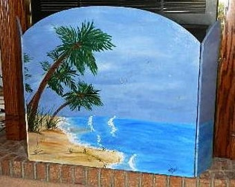 Palm Tree Firescreen