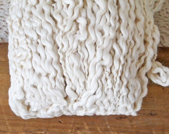 Pakucho Organic Chunky Flamme Cotton Yarn, Natural