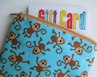 Zipper Wallet Little Monkeys