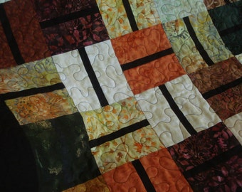 Pick Up Sticks - Lap Quilt