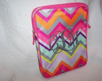 Personalized CHEVRON Ipad Netbook Tablet Sleeve