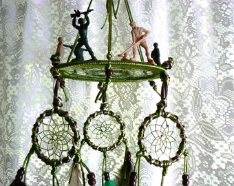 Dream Catcher mobile , soldiers