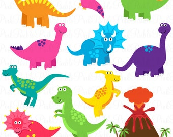 Dinosaur SVGs, Dinosaur Cutting Templates - Commercial and Personal Use
