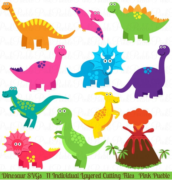 Dinosaurier-SVG Dinosaurier-Schnittmuster kommerziellen und