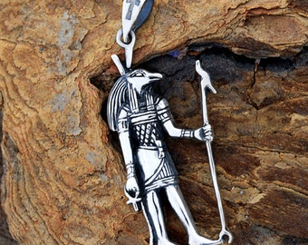 Egyptian Silver Chaos God Seth (Set), Pendant