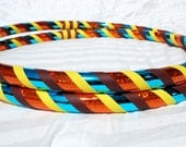 NEW: Rain Fall Custom Hula Hoop - Collapsible or Standard - ANY Size